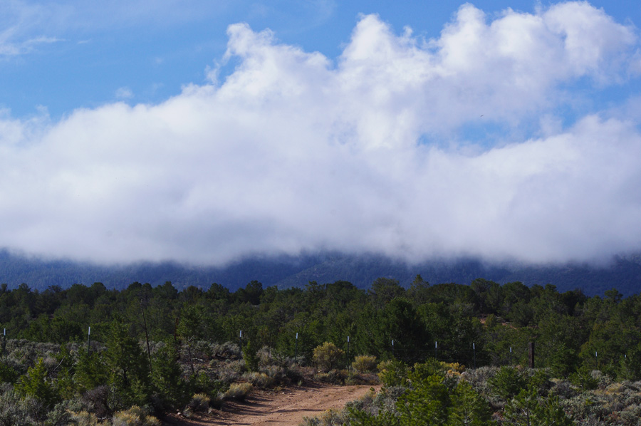 Clouds over Miranda Canyon