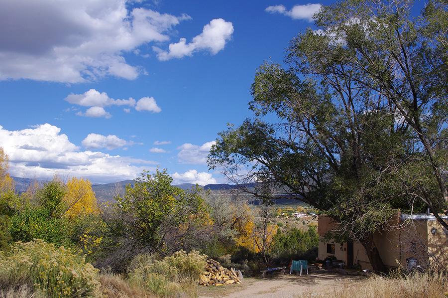 south Taos scene