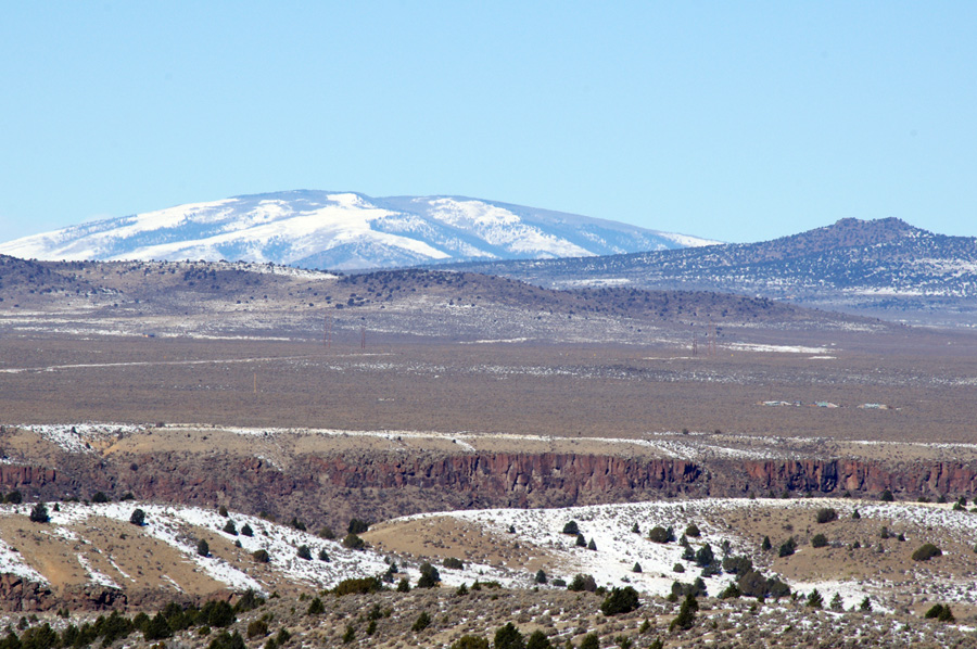View from Taos Valley Overlook