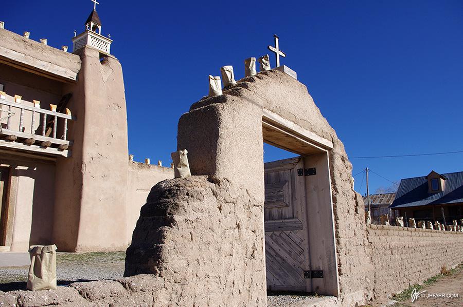 San Jose de Gracia Church in Las Trampas, NM