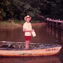 guy in a boat