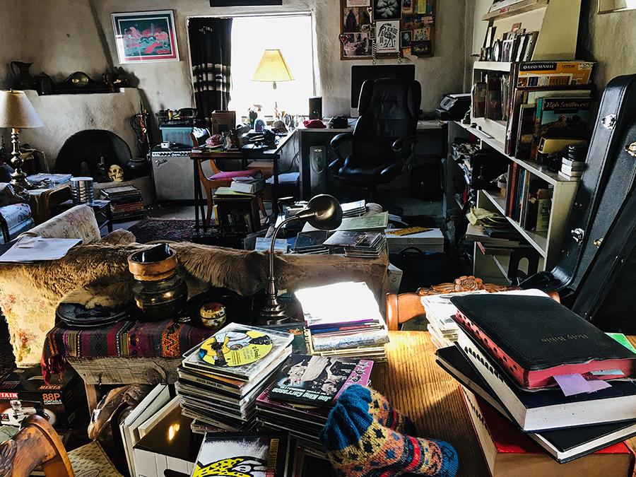 my studio, ha-ha