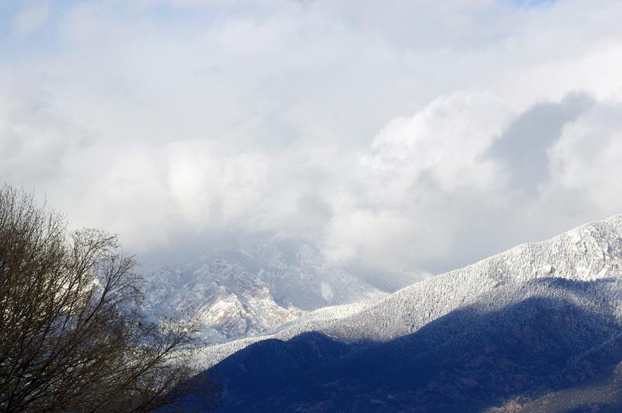 Taos Mountain (detail)