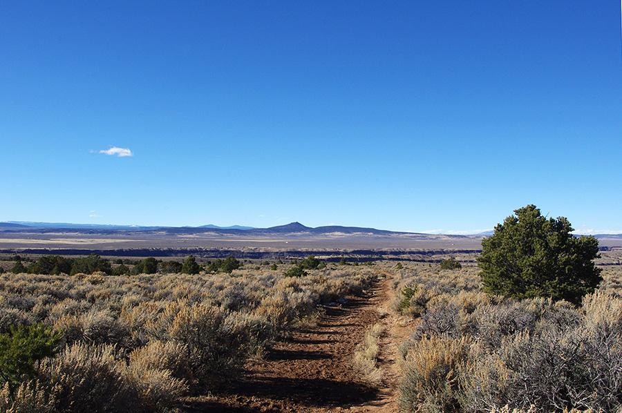 Taos Valley Overlook scene
