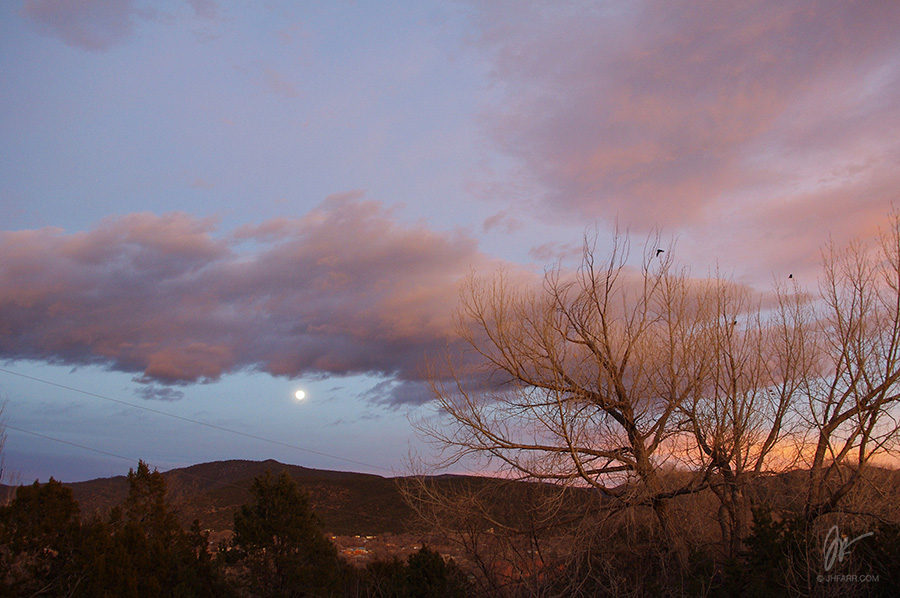 moon over Talpa (Taos, NM)