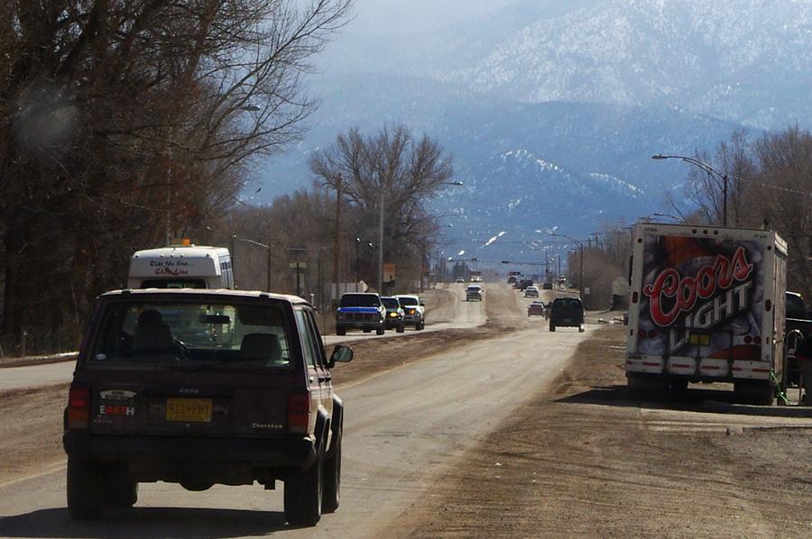 Paseo del Pueblo Sur in Taos, NM
