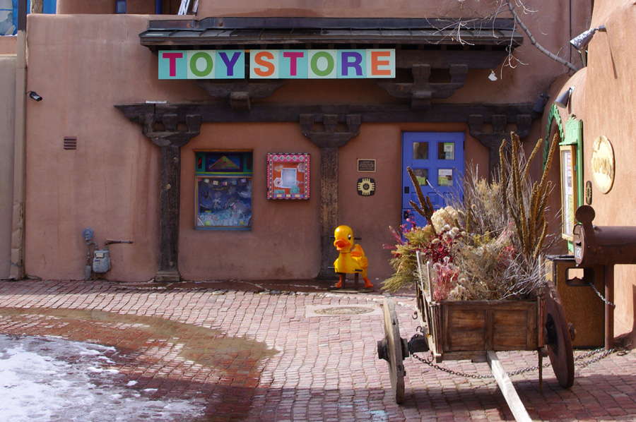 toy store in Taos, NM