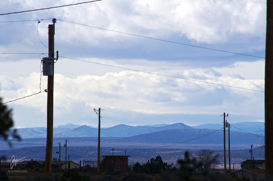 view from Taos, NM
