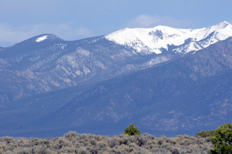 Kachina Peak from Taos Valley Overlook