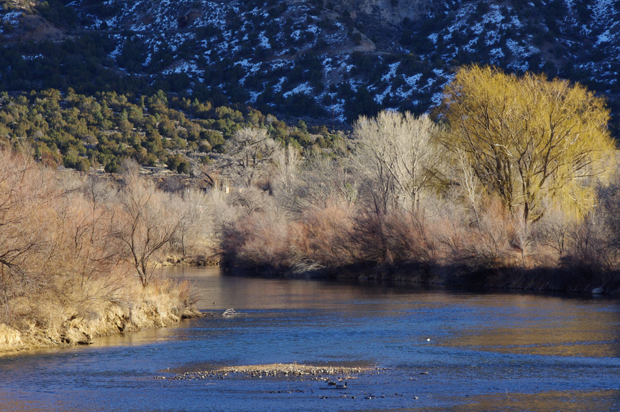 Rio Grande at Pilar, NM