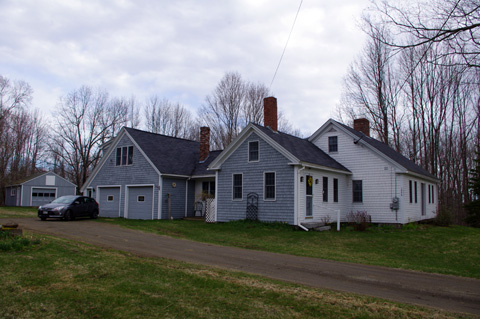 house in Maine