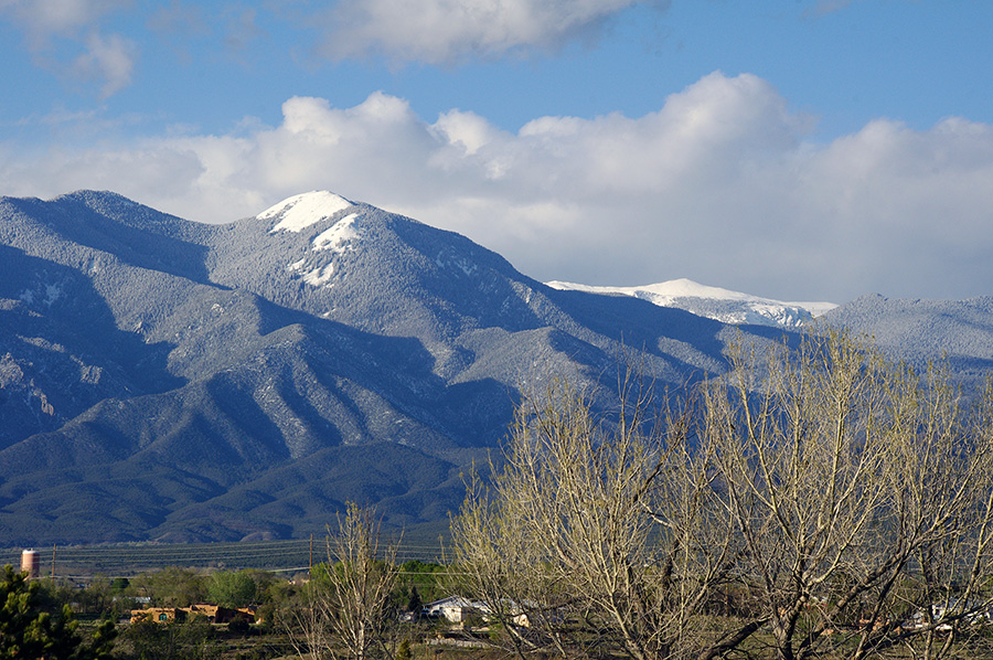 springtime in Taos, NM