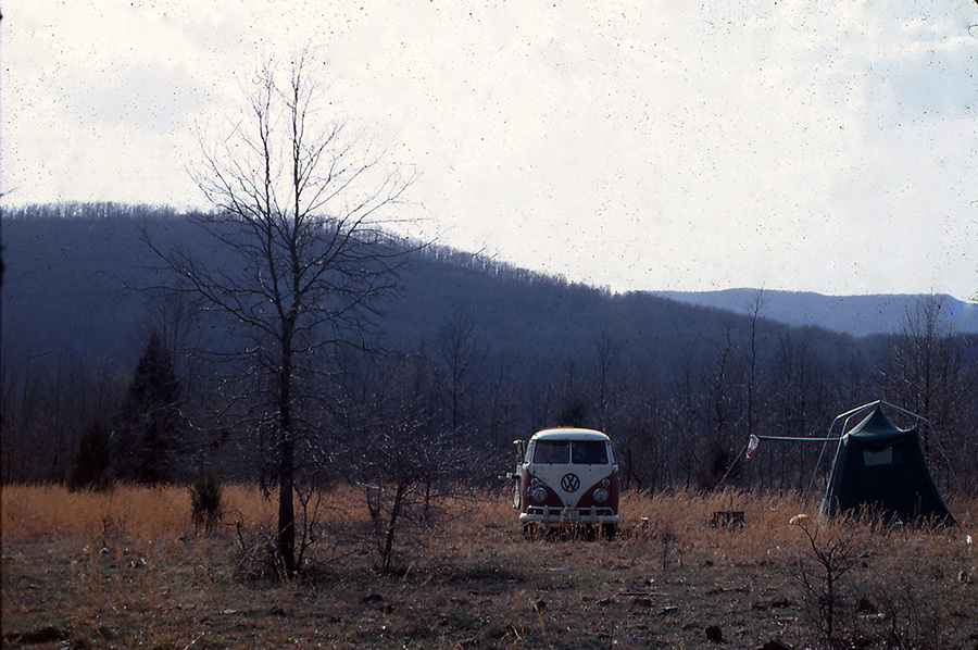 '63 VW Bus in Arkansas in 1971