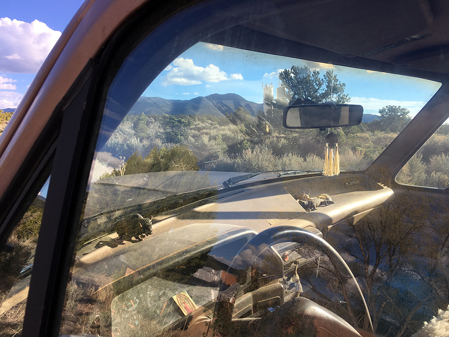 old New Mexico truck