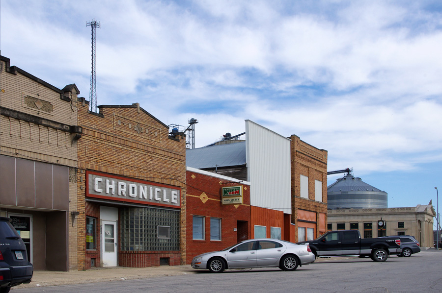 downtown Odebolt, Iowa
