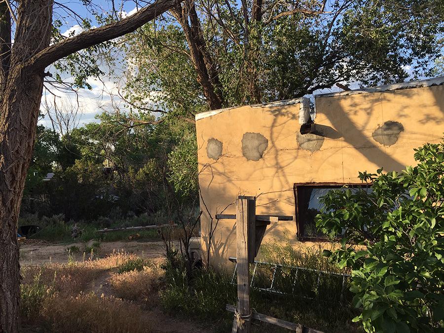 old Taos adobe