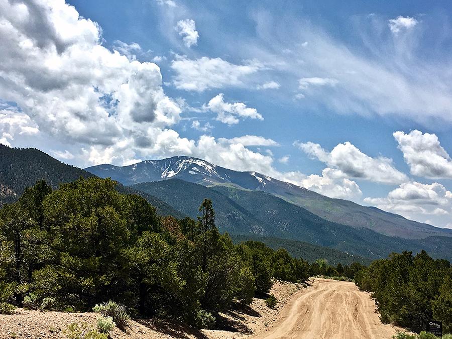 Flag Mountain near Questa, NM