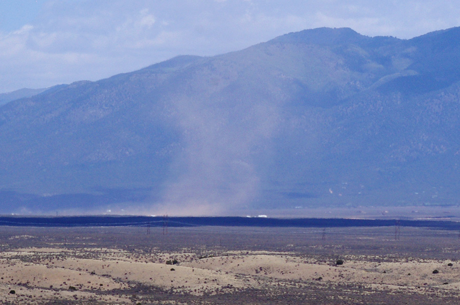 dust devil by Lobo Peak