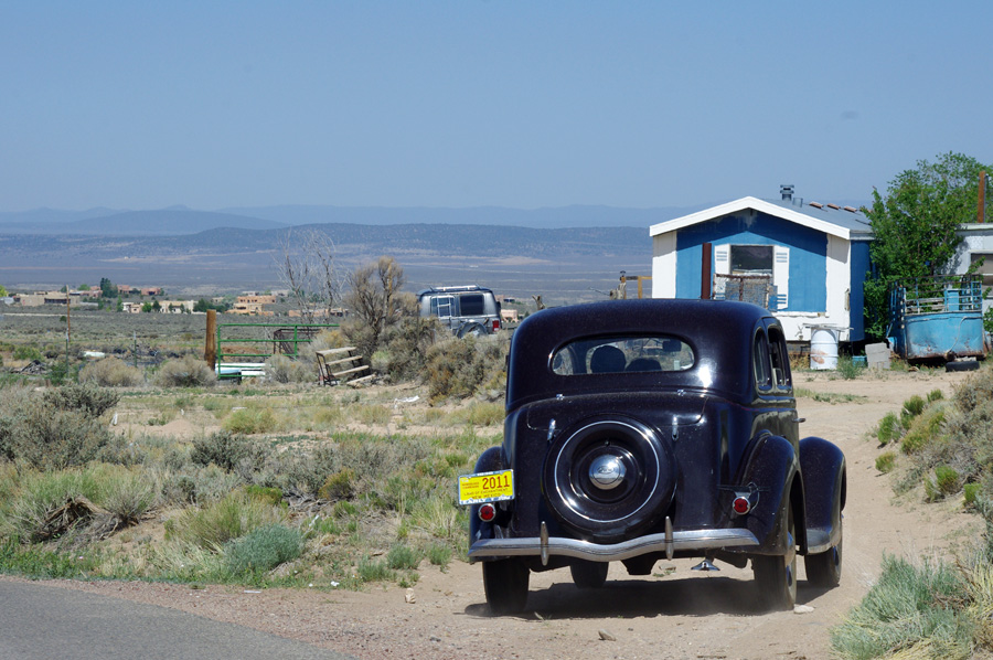 old Ford, old Taos