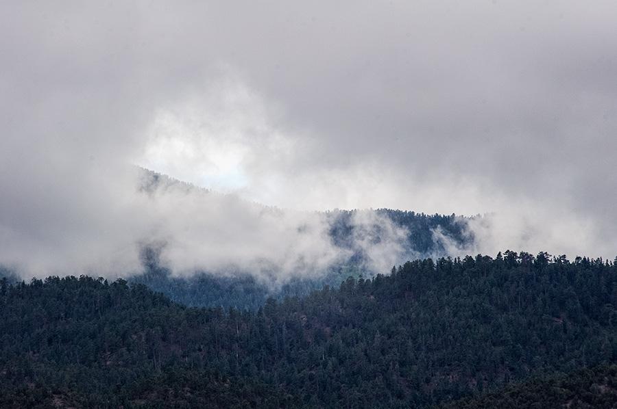 Clouds near Picuris Peak