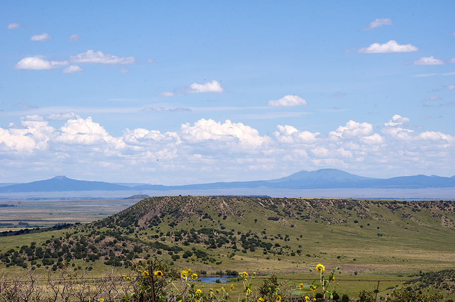 View near Philmont Scout Ranch in New Mexico