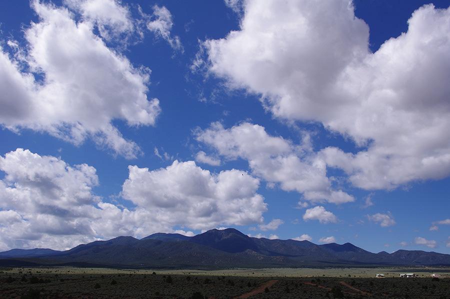 mountains south of Taos, NM
