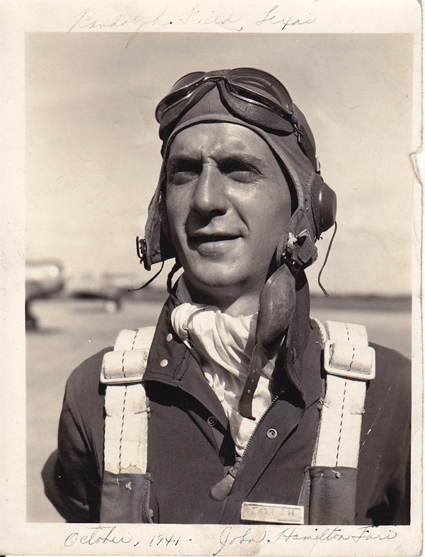 John Hamilton Farr (Sr.) in October, 1941
