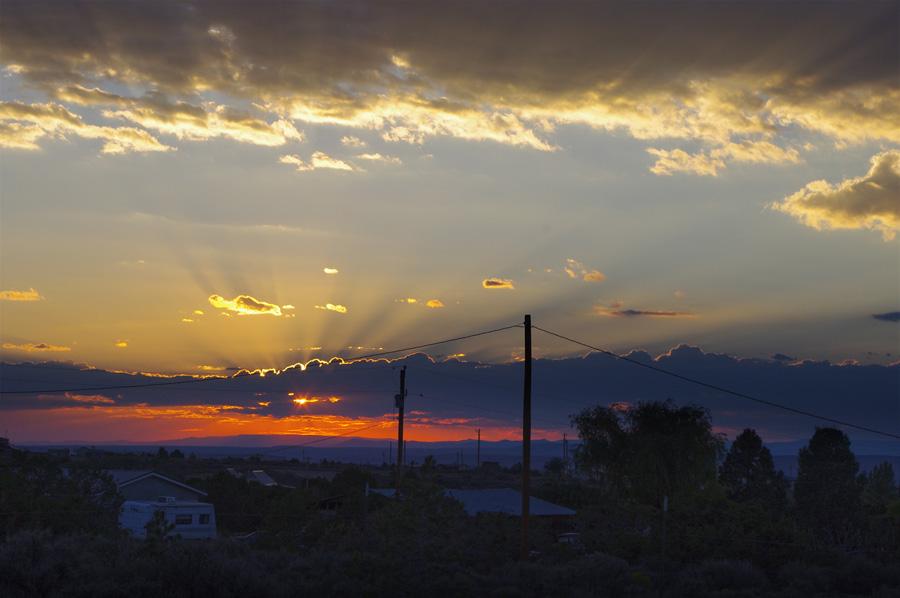 Taos, NM sunset