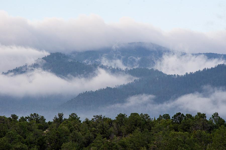 Picuris Peak at dawn