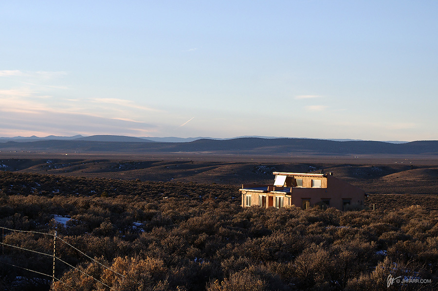 Somewhere south of Taos