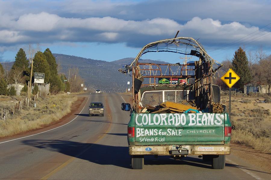 weird truck seen in Taos, NM