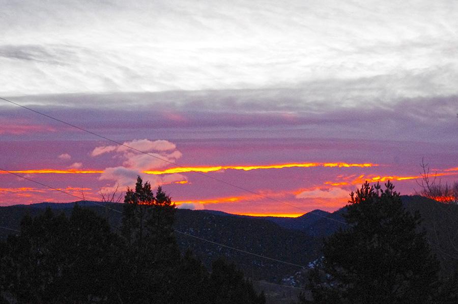 Dawn in Taos