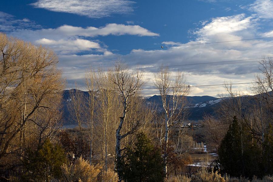 winter dawn s. of Taos