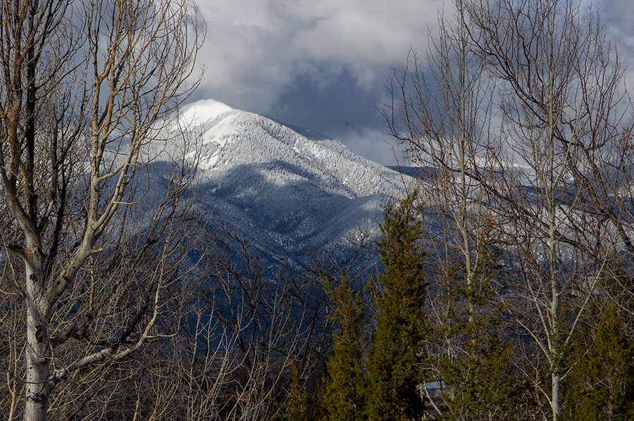 March Taos Mountain photo