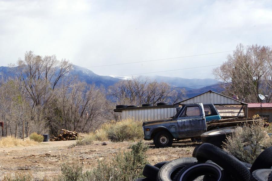 Llano Quemado, south side of Taos, New Mexico