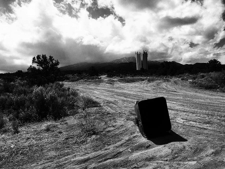 Llano Quemado scene