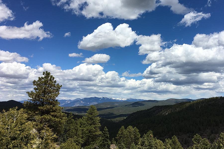 mountain  view near Taos, NM