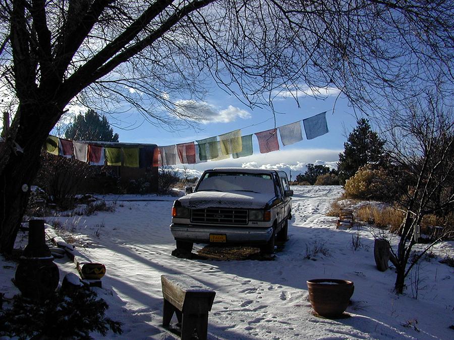 Old Taos scene