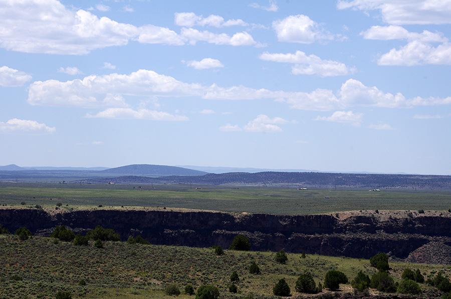 Rio Grande Gorge near Taos, NM