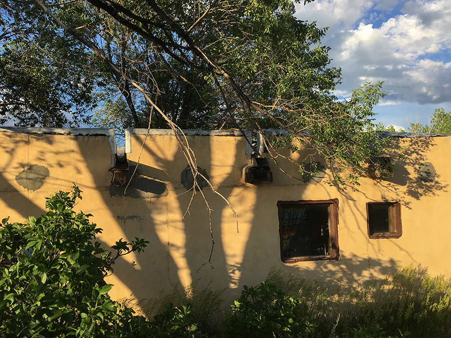 old Taos adobe