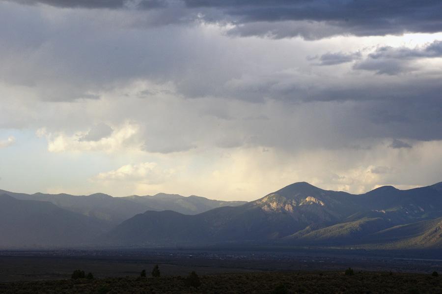 El Salto near Taos, NM