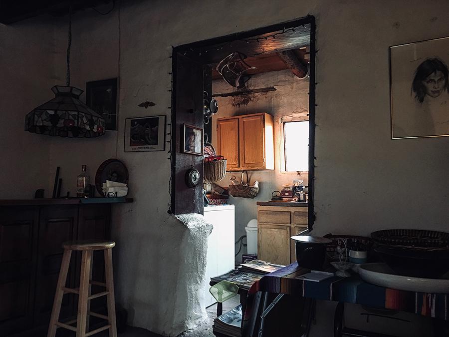 old adobe interior