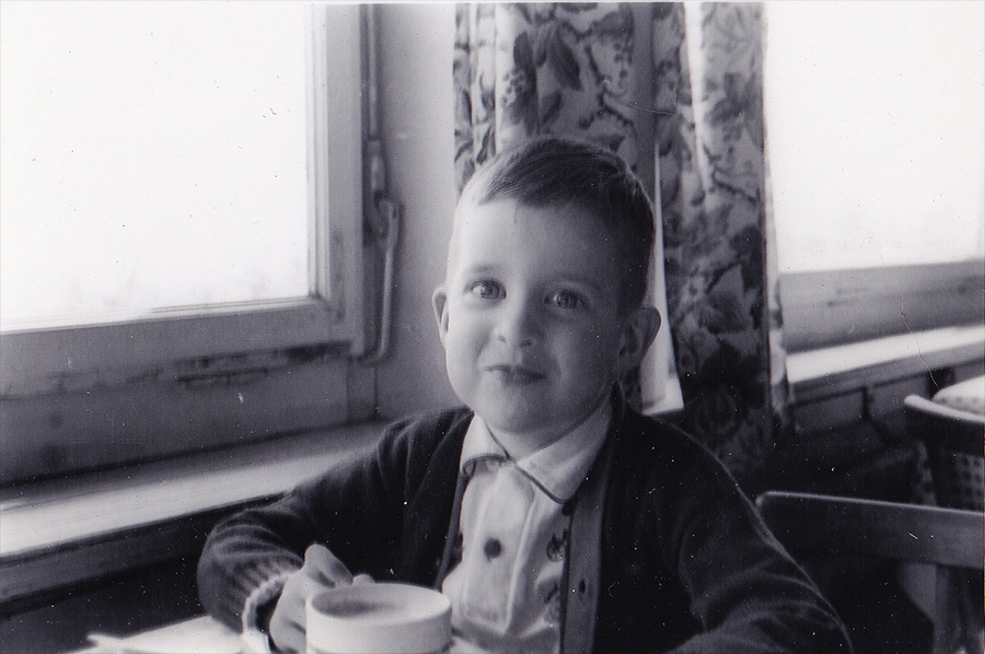 My brother Bill around age four in Germany
